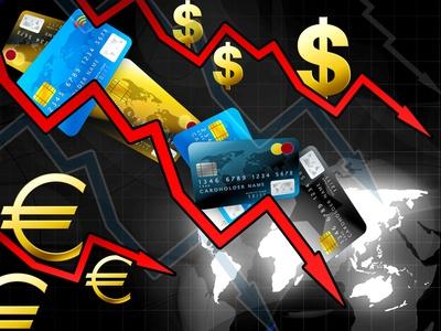 world money crisis concept