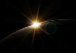 Erde am Morgen