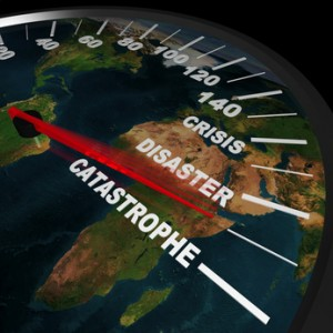 Speeding toward Global Catastrophe