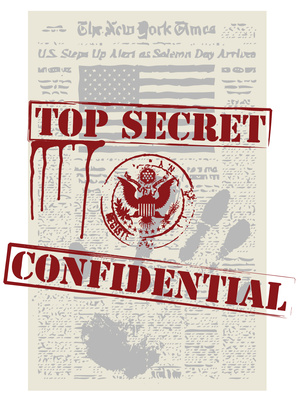 The secret, mystery and conspiracy.