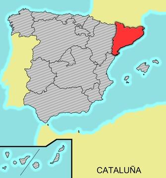 España - Comunidades autónomas: Cataluña