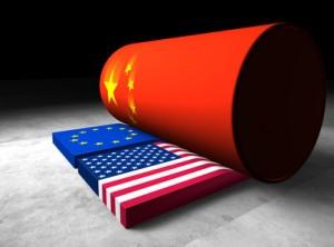 Chinesische Wirtschaftswalze