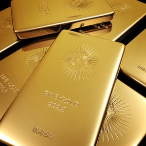 Goldbarren Gold Barren