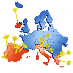 Attack to Euro - Default risk