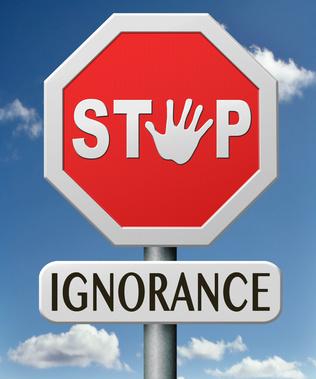 stop ignorance