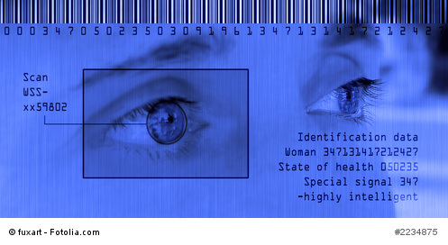 identification data - scan iris