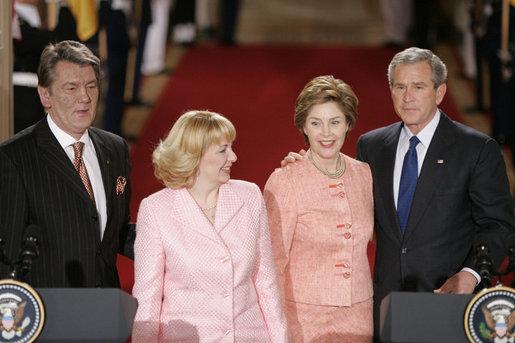 Juschtschenko Pro EU und NATO