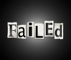 Failure concept.