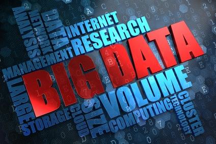 Big Data. Wordcloud Concept.