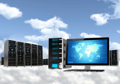 Cloud Computing Server Concept
