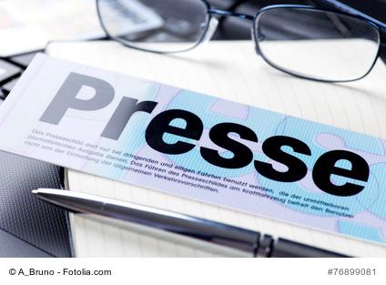 Presseschild