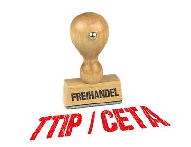 Stempel - Freihandel TTIP-CETA