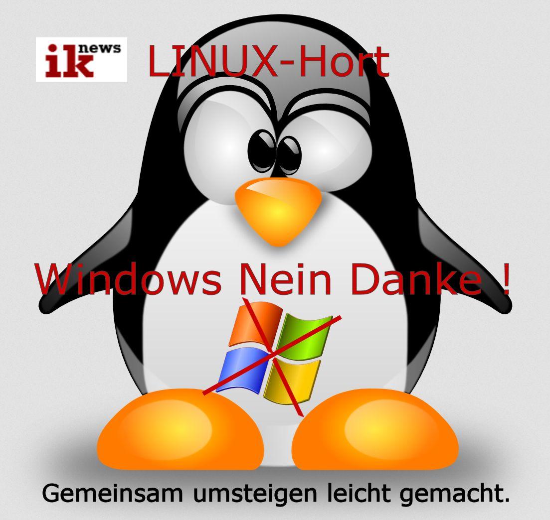 Linux Hort: Gemeinsam brüten statt einsam am Fenster sitzen